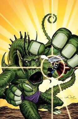 Fing Fang Foom vs Thor