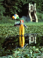 Full View of Pennywise the Dancing Clown