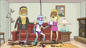 Rick and Morty - Eyehole man