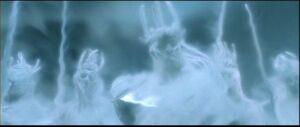 Ringwraith spirits