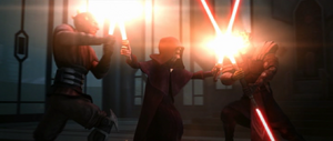 Sidious fighting