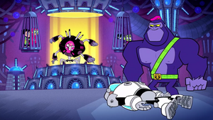 The Brain Defeats Cyborg