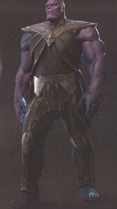 Avengers Infinity War Thanos concept art 9