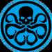 Blue HYDRA logo
