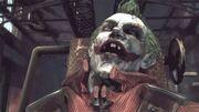 Joker defeated (Arkham Asylum)