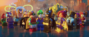 Joker happy at batman and friends