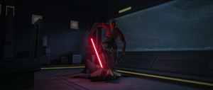 Maul overpowers
