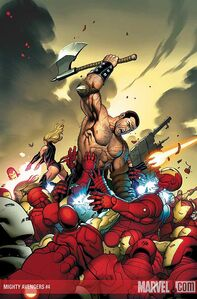 Mighty Avengers Vol 1 4 Solicit