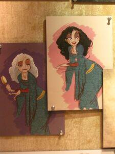 Mother Gothel concept art (4)