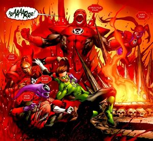 Red Lantern Corps 003