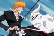 Rudbornn confronting Ichigo