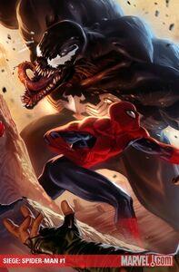Siege Spider-Man Vol 1 1 Textless