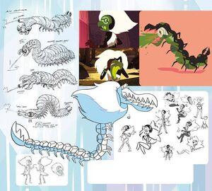 Centipeetle concepts