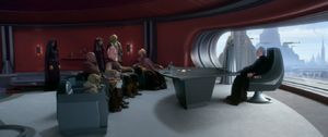 Chancellor Palpatine meeting