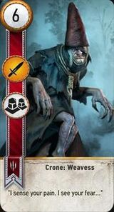 Cron weavess card