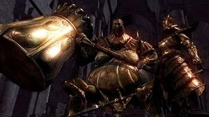Dark Souls Ornstein and Smough Boss Fight