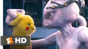Pokémon Detective Pikachu (2019) - Defeating Mewtwo Scene (9 10) Movieclips