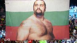 RusevOnFlag