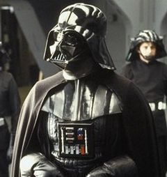 Darth Vader aboard the Executor