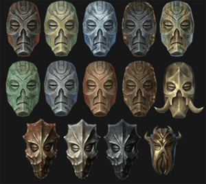 Dragon Priest Mask Collection