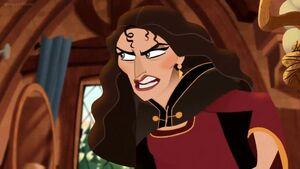 Gothel calling Cassandra a lousy little pest