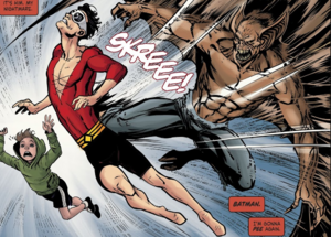 Man-Bat attack Plastic Man