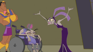 Yzma with her mother