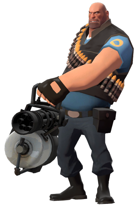 heavy team fortress 2 characters