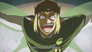 Fairy King Oberon's rise to power