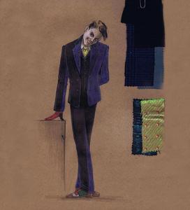 Gotham Joker concept art