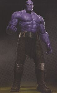 Avengers Infinity War Thanos concept art 2