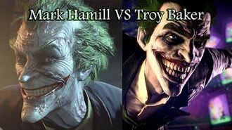 Mark Hamill VS Troy Baker (Killing Joke monologue)