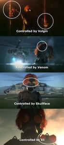 Tretij Rebenok (MetalGear) different control stages
