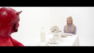 Dinner with Satan
