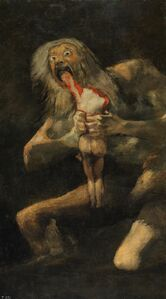 Saturn Devouring His Son (Francisco Goya)