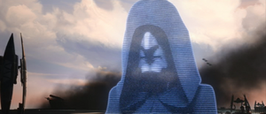 Sidious arriving
