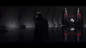 Star Wars The Last Jedi - Kylo Ren Meets With Supreme Leader Snoke
