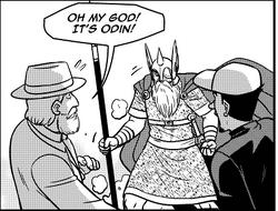 Thor Enters