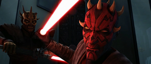 Darth Maul look