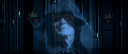 Emperor Palpatine message