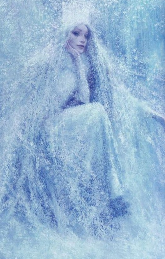 Elsa Concept Art Evil Snow Queen