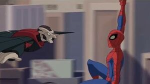 Spectacular Spider-Man (2008) Spider-Man saves Norman Osborn from Vulture