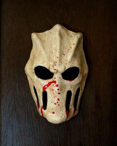 Splatterhouse terror mask by lymansterms-d7d4oir