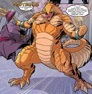 Stegron (Earth-616) from Spider-Man & The X-Men Vol 1 1