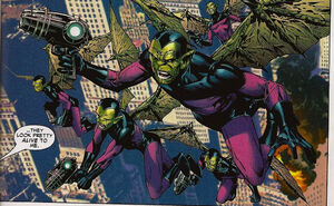 Flying skrulls