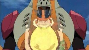 Mega Man Star Force episode 9 Rampaging Ox Fire