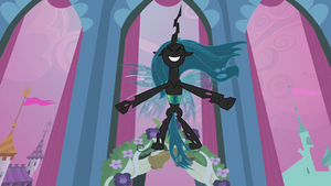 Queen Chrysalis invigorated S2E26