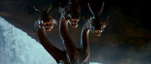 The emperor in his dragon form