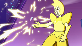 Yellow's attack stopped by Steven