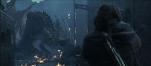 Bull from reign of fire